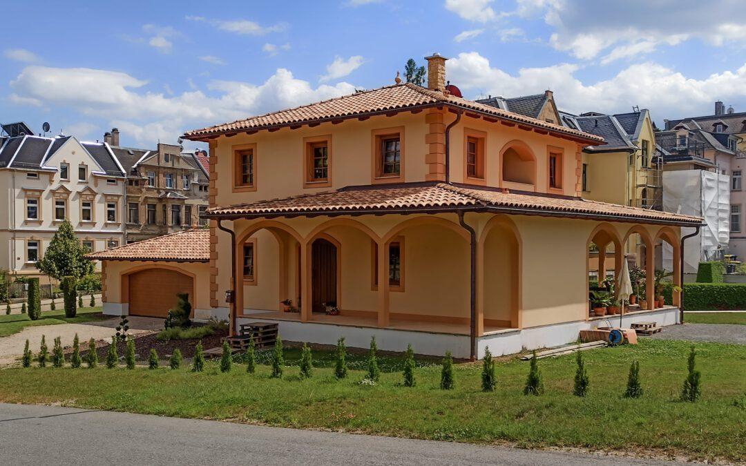 Einfamilienhaus im mediterranen Stil