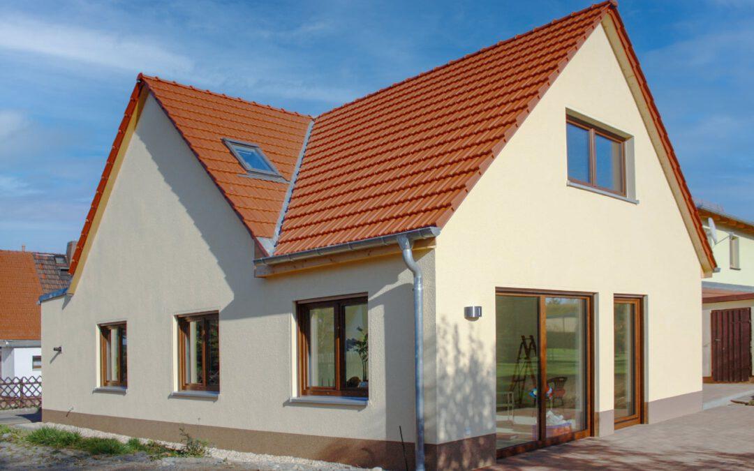 Anbau an eine Doppelhaushälfte
