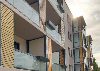 Umbau Wohnhaus mit Anbau Aufzug